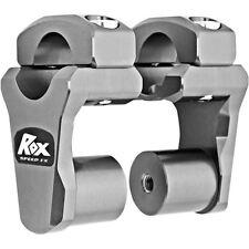 "ROX PIVOTING HANDLEBAR RISER FOR 28,6 mm (11/8"") HANDLEBARS 51mm GREY ANODIZED"