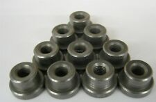 """Weld on Nuts 3/8""""-16 Thread Threaded Nut Steel Chassis Mount Tab Pack of 10"""