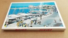 More details for souvenir aegina, 12 small colour postcard style views, foldout book