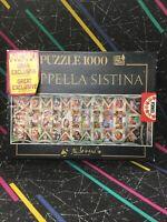 Educa 1000 Piece Jigsaw Sistine chapel Rome (Cappella Sistina) Complete