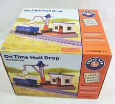 Lionel On Time Mail Drop Train Station & Mail Car Learning Curve NEW Original