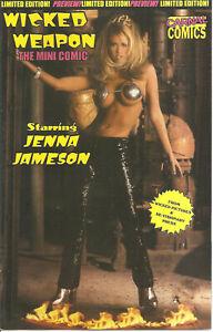 Jenna Jameson Wicked Weapon Mini Carnal Comics film adaptation Publshr File Copy