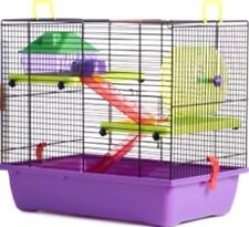 TOWNHOUSE HAMSTER HOME - (42 x 29 x 38cm) - Karlie Flamingo Pet Animal bp Cage
