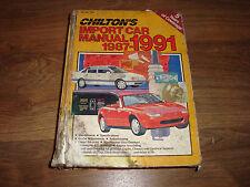 Chilton's Import Car Manual 1987-1991 Part No. 7904