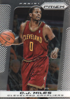 2013-14 Panini Prizm Cleveland Cavaliers Basketball Card #195 C.J. Miles