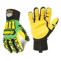 NEW IRONCLAD SDXC Cut Resistant Gloves, Yellow/Green, SIZE MED - FREE SHIPPING
