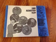 1988 Ford Aerostar Electrical And Vacuum System Dealer Troubleshooting Manual