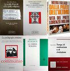LOTTO 6 libri di religione, filosofia, studi teologici, pedagogia cristiana
