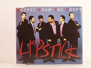 ROCKET FROM THE CRYPT LIPSTICK/HEADS ARE GONNA ROLL (BLUE) (K67) 3 Track CD Sing