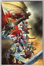 SPAWN #300 Jerome Opena VIRGIN VARIANT O 1st Cover App of Female She-Spawn NM+🔥