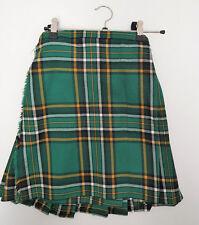 "Ex Hire Kids 24"" waist 16"" Drop Heritage Of Ireland  Wool KILT B CONDITION"