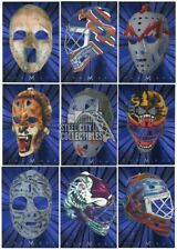 2001-02 Be A Player Between The Pipes Hockey The Mask 40-Card Insert Set