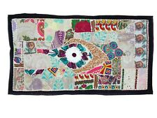 WallArt Tapestry Antique Bohemian Embroidered Patchwork Vintage Wall Hanging