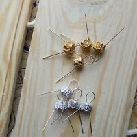 Hanging Pins + Caps for Polystyrene Styrofoam Modeling Balls & other Decorations