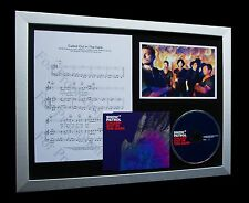 SNOW PATROL Called Out In The Dark ULTRA LIMITED Numbered RARE CD FRAMED DISPLAY