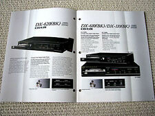 Sharp 1985 audio components full line product brochure