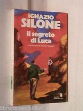 IL SEGRETO DI LUCA Ignazio Silone Mondadori Oscar 159 1967 LIbro Romanzo di