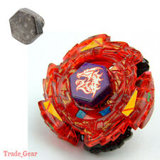 Fusion Masters Beyblade METED L-DRAGO RUSH (RED)+HEAVY METAL FACE BOLT