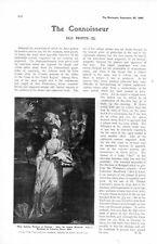 1905 PRINT IARTICLE  OLD PRINTS MEZZOTINT ETC PRICES