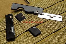 2x IFAK First Aid MEDIC Gear Scalpels EDC Compact Folding EDC SERE Razor Blades