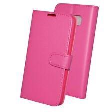Sony Xperia T LT30p Libro Bolsa Funda Cartera De Cuero Teléfono Negro Rosa