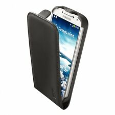 negro Artwizz SeeJacket FLIP + bolsa de cuero de la caja dura mate Galaxy S4