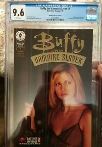 Buffy the Vampire Slayer 1 1998 Another Universe CGC 9.6