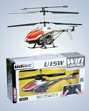 RC U15W Coaxial Helicopter Wifi IPHONE - IPAD Controlled Helicopter Helicopter