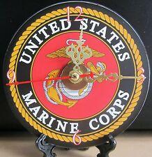 Brand New, United States Marine Corps USMC CD Clock Military Jarheads Semper-Fi