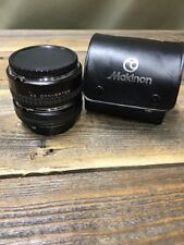 Makinon  X2 Converter Both Lens #1 & #2 Konica  W Caps Covers & Case Japan Made