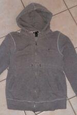 H&M Mama Umstandskleidung Sweatshirt Sweatjacke Cardigan Gr. L  Grau Jacke