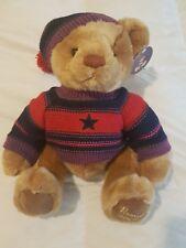 """HARRODS Footdated Christmas Teddy Bear 2004 - Thomas - 13"""" Tall"""