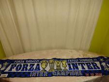 """Inter Mailand Fan Schal """"FORZA RAGAZZI FATECI SOGNARE! FORZA INTER"""" TOP"""