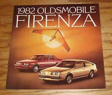 Original 1982 Oldsmobile Firenza Sales Brochure 82 SX LX