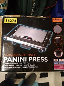 DELTA Panini Press new boxed