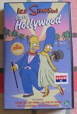 """2 cassettes VHS """"Les Simpson"""""""