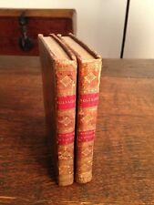 2 Volume Voltaire Histoire De L'Empire De Russie Sous Pierre Le Grand Circa 1815