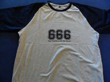 Iron Maiden 666/664 Bloke Next Door Fanclub Exclusive shirt Size Large Unworn
