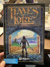 Times Of Lore Pc Ibm Tandy Origin Games Computer 3.5 Disk 1989