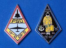 LOCKHEED SKUNK WORKS SR-71 BLACKBIRD & U-2 SPY PLANE PSD  CHALLENGE COIN - USAF