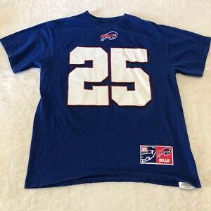 Buffalo Bills Lesean McCoy Jersey Shirt Adult Large Blue Men's Majestic