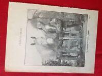 A1e ephemera 1900  book plate the farmer's son fed the horses