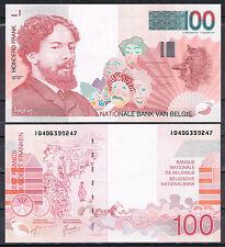 BELGICA BELGIUM 100 FRANCOS 1995/2001  Pick 147   SC  UNC