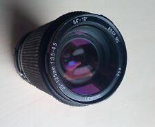 Grand zoom pour appareil photo TAMRON 35-135mm 1:3.5-4.5 64°-18° Ø58 .D10