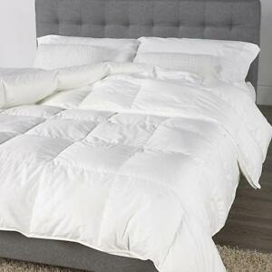 Hotel Quality White Goose Feather & Down Duvet Quilt IN All Size & Togs