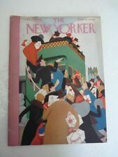 Magazine Journal THE NEW YORKER december 12 1931