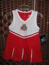 Team Athletics Ohio Buckeyes cheer dress 2T 2  cheer uniform cheerleader OSU new
