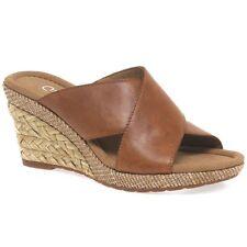 Gabor Platform, Wedge 100% Leather Upper Shoes for Women