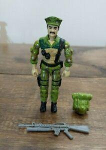 GI Joe 1986 Leatherneck *Marine* Complete No Cracks NICE
