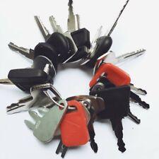 24 keys Construction Ignition / Heavy Equipment Key Set CAT Case volvo Deere JCB